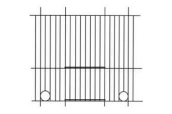 Pennine Budgie Cage Front (May Vary) (24 x 12in)
