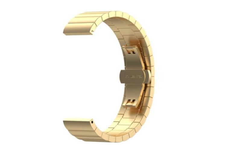 Select Mall Stainless Steel Strap Smart Watch Band for Huawei gt5 -GOLD