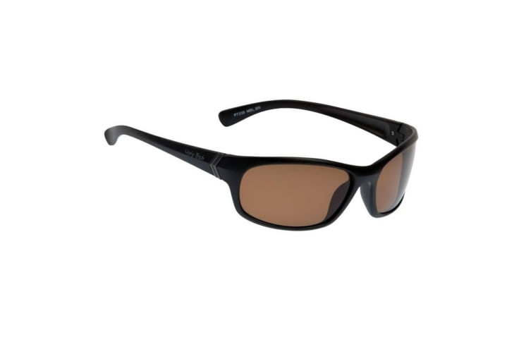 Brown Ugly Fish TR-90 Polarised P7338 Adult Sunglasses - Adult Fishing Sunnies