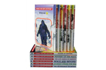 Box Set #6-1 Choose Your Own Adventure Books 1-6: - Box Set Containing: The Abominable Snowman, Journey Under the Sea, Space and Beyond, the Lost Jewels of Nabooti, Mystery of the Maya, House of Danger