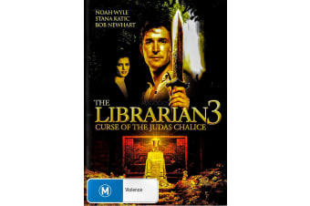 The Librarian 3 Curse of The Judas Chalice - Region 4 DVD PREOWNED: DISC LIKE NEW