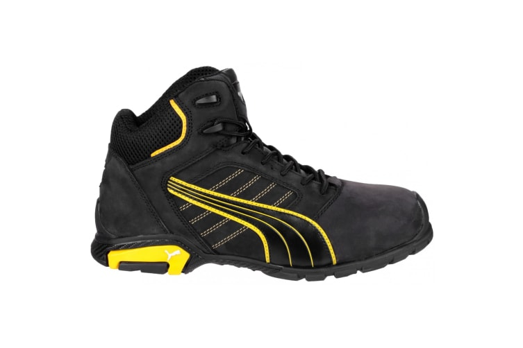 Puma Safety Amsterdam Mid Mens Safety Boots (Black) (44 EUR)