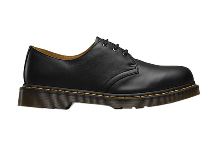Dr. Martens 1461 Nappa Shoe (Black, Size UK 8)