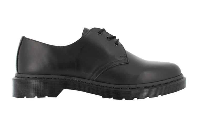 Dr. Martens 1461 Mono Smooth Low Top Shoe (Black, Size 4 UK)