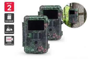 Kogan 25MP Pro HD Trail Camera (2 Pack)