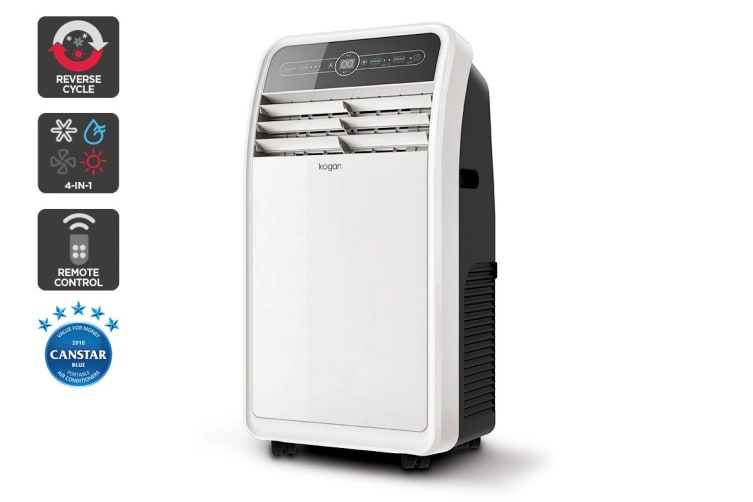 Kogan 4.1kW Portable Air Conditioner (14,000 BTU, Reverse Cycle) - Pre-owned