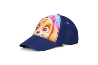 Paw Patrol Childrens/Kids Skye Baseball Cap (Navy/Pink)