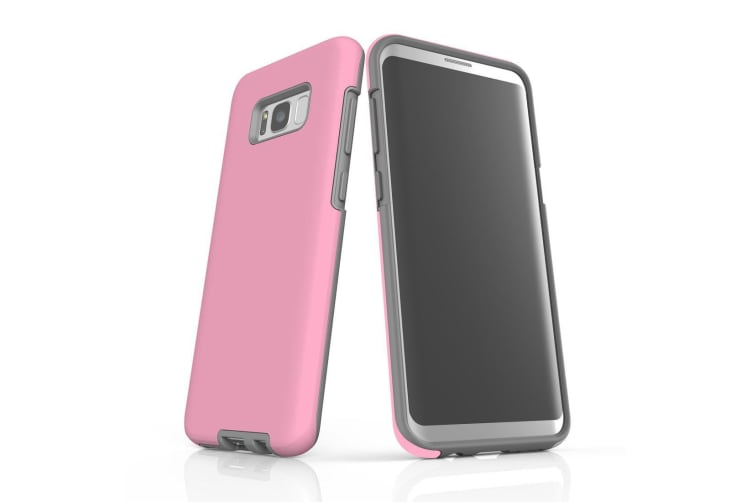 For Samsung Galaxy S8+ Plus Case  Armour Tough Protective Cover  Pink