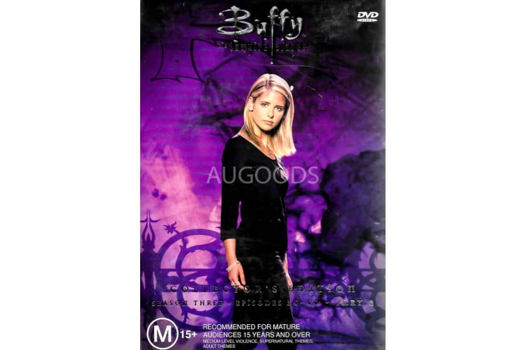 Buffy The Vampire Slayer Part 2 Collector's Edition - Series Region 4 Preowned DVD: DISC LIKE NEW