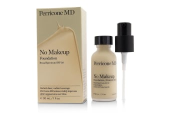 Perricone MD No Makeup Foundation SPF 30 - Fair (Exp.Date 11/2019) 30ml/1oz