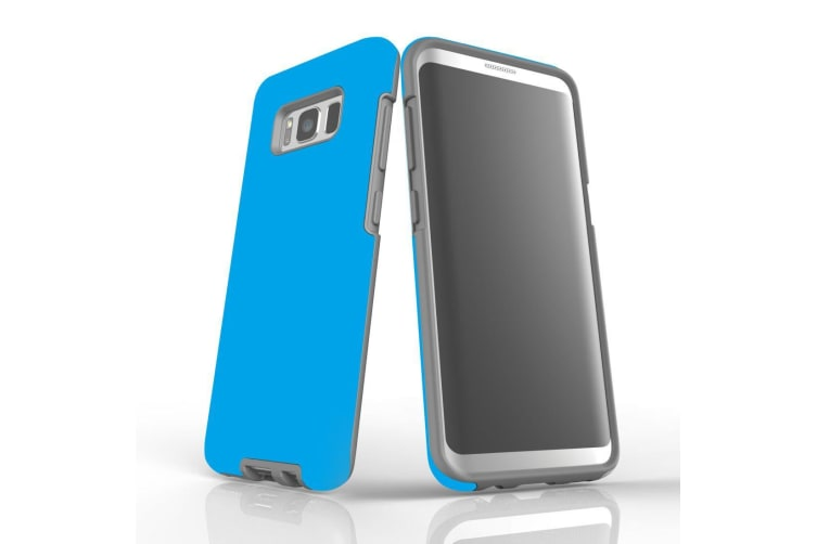 For Samsung Galaxy S8 Case  Armour Tough Protective Cover  Turquoise