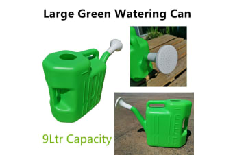 Large Watering Can 9L Garden Water Plastic Tool Plant Flower Outdoor Tree Pot