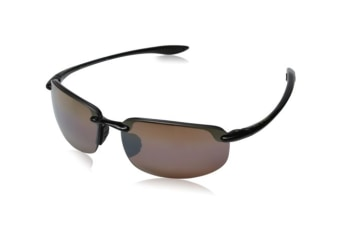 Maui Jim Ho'okipa H407-02 Gloss Black Mens Womens Sunglasses