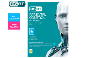 ESET Parental Control Web Security 1-Year Software Download for Android Devices