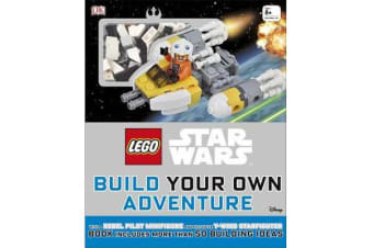 LEGO (R) Star Wars Build Your Own Adventure - With Rebel Pilot Minifigure and Exclusive Y-Wing Starfighter