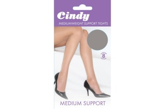 Cindy Womens/Ladies Mediumweight Support Tights (1 Pair) (Diamond)