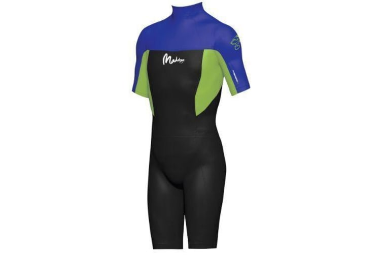 Maddog Boys Superstretch 2mm Springsuit - Blue (Size 12)