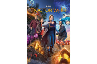 Doctor Who Chaotic Poster (Multicoloured) (One Size)
