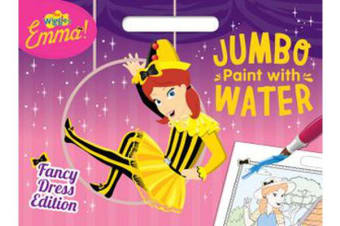 The Wiggles Emma! - Fancy Dress Edition Jumbo Paint with Water