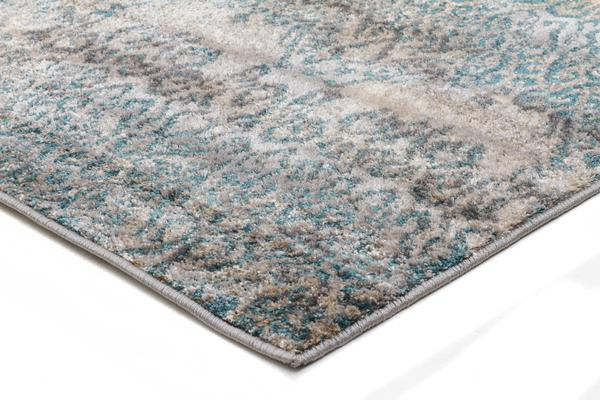 Hanna Lace Rug Blue Natural 230x160cm