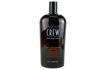 American Crew Men Daily Moisturizing Shampoo (For All Types of Hair) 1000ml