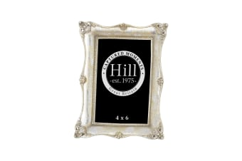 Hill Interiors Antique Metallic Silver Decorative Photo Frame (Silver)