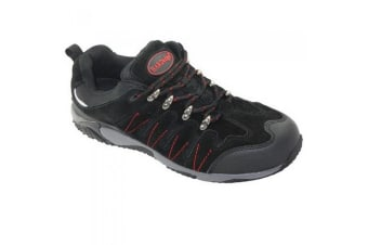 HardEdge Mens Safety Trainer (Navy)
