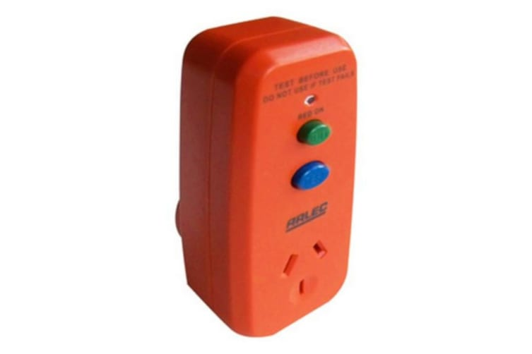 RCD Satety Switch Inline surge protection for equipment connected