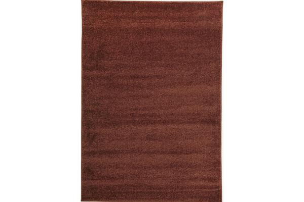 Dense Plain Rust Coloured Rug 230x160cm