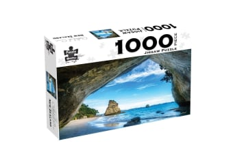 Cathedral Cove, New Zealand, 1000 Piece Puzzle