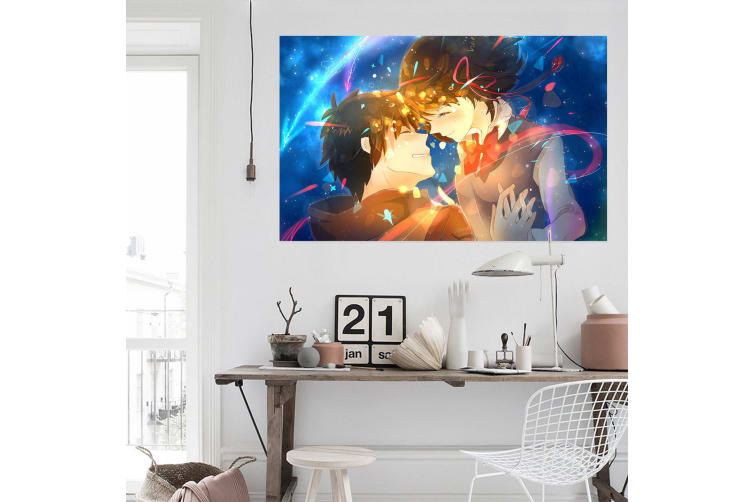 3D Your Name 92 Anime Wall Stickers Self-adhesive Vinyl, 110cm x 110cm(43.3'' x 43.3'') (WxH)