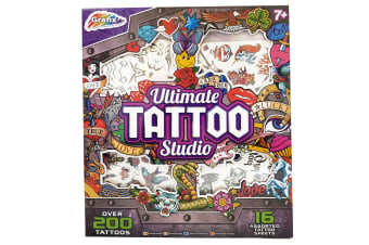 Grafix The Ultimate Temporary Tattoo Set