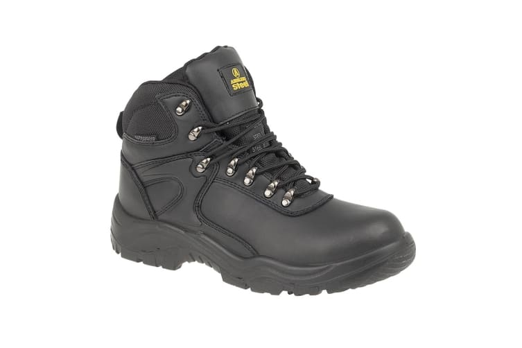 Amblers Steel FS218 W/P Safety / Mens Boots / Boots Safety (Black) (11 UK)