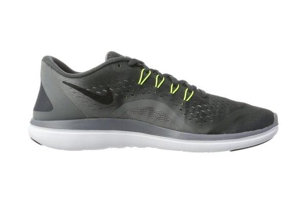 Nike Men's Flex RN 2017 Running Shoe (Anthracite/Volt/Black, Size 8.5)