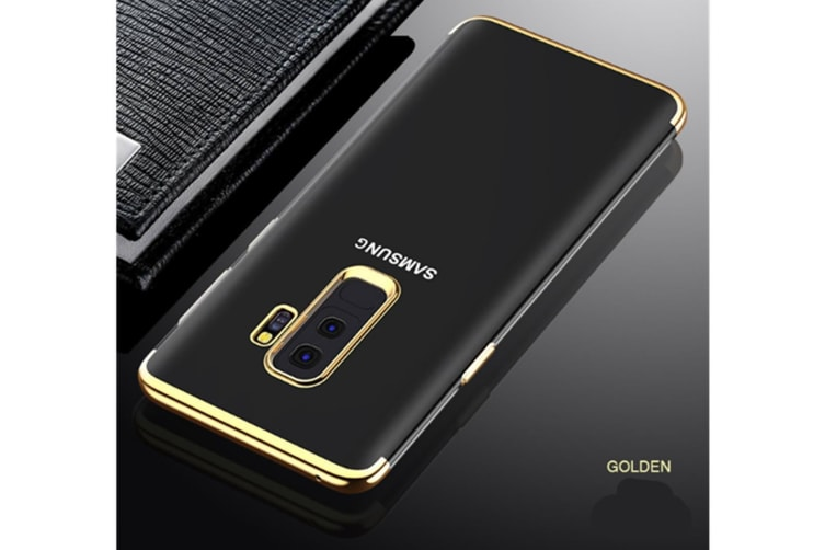 Soft Transparent Tpu Anti-Scratch Phone Case For Samsung Galaxy Gold Samsung A7 2018/A8Plus 2018