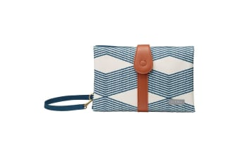 JJ Cole Collections Changing Clutch - Navy Twine