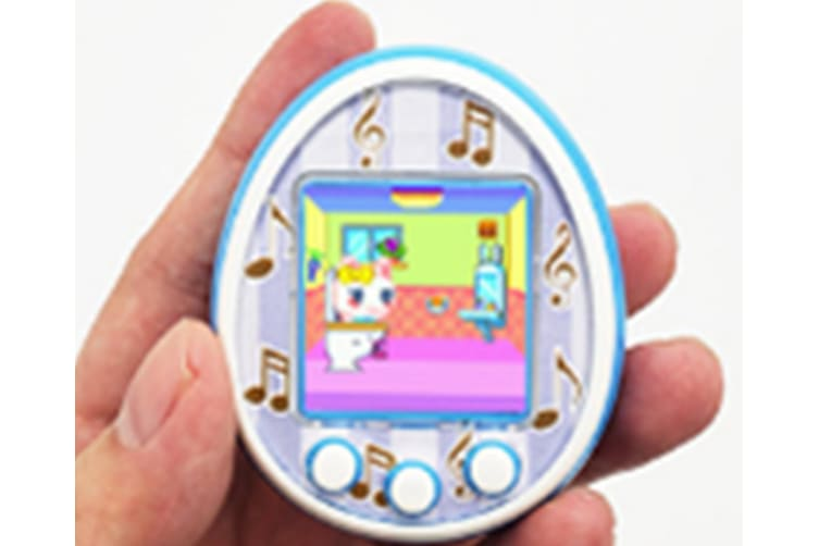 Select Mall 1.5 Inches LCD Screen Handheld Game for Kids Portable Video Game Player Built-in 12 Classic Games Birthday Present for Children-Blue