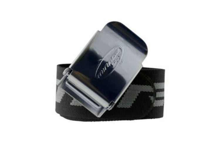 Mirage Webbing Weight Belt with Stainless Steel Buckle - Blue
