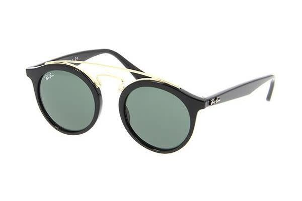 Ray-Ban RB4256 - Black (Grey Green lens) / 49--20--150 Unisex Sunglasses
