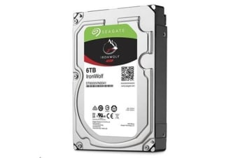 Seagate IronWolf, 6TB 128MB Cache SATA 6.0Gb/s NAS Internal Hard Drive
