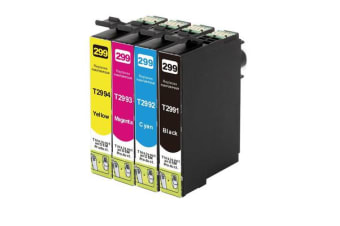 29XL Compatible Inkjet Cartridge Set 4 Ink Cartridges [Boxed Set]