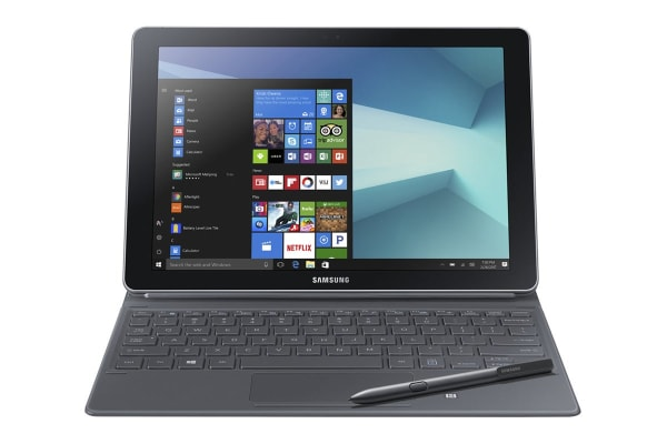 "Samsung Galaxy Book 12"" W723 (256GB, Wi-Fi, Silver)"