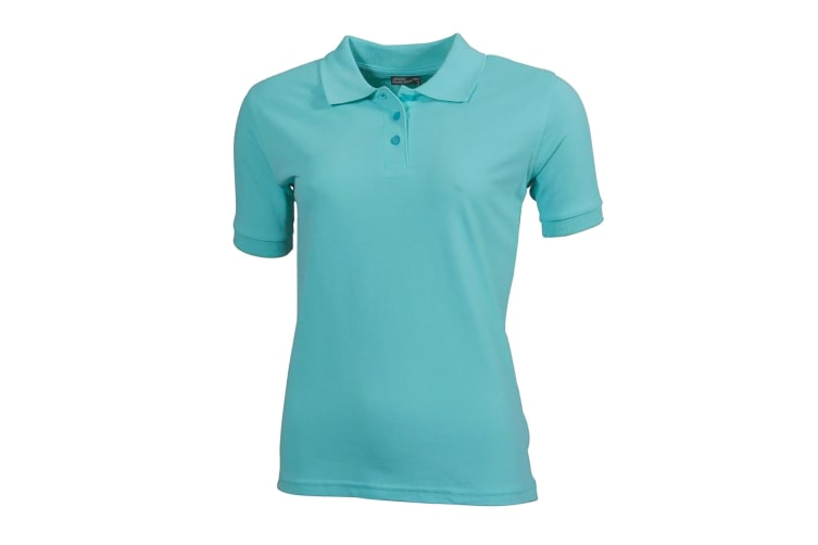 James and Nicholson Womens/Ladies Classic Polo (Mint Green) (S)
