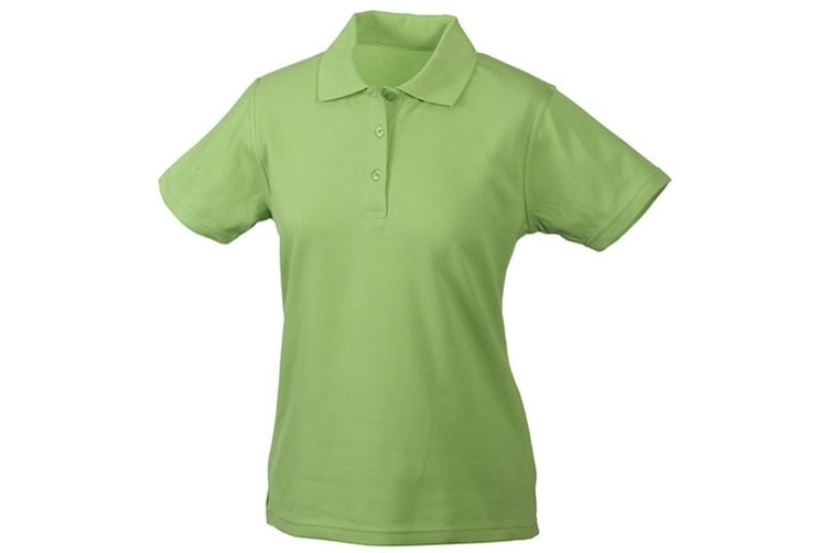 James and Nicholson Womens/Ladies Function Polo (Grass Green) (S)