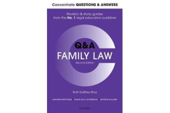 Concentrate Questions and Answers Family Law - Law Q&A  Revision and Study Guide