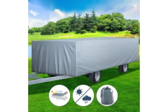 Weisshorn 14-16ft Camper Trailer Cover Travel Tent 4.2-4.8m Camp Swan Waterproof