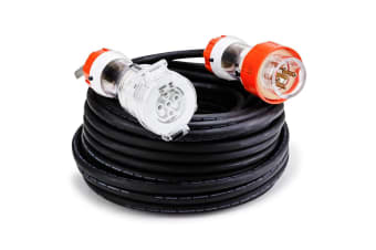 GENPOWER 30M Power Cord 3-Phase 20A Aussie Standard 5-Pin 415V Extension Lead