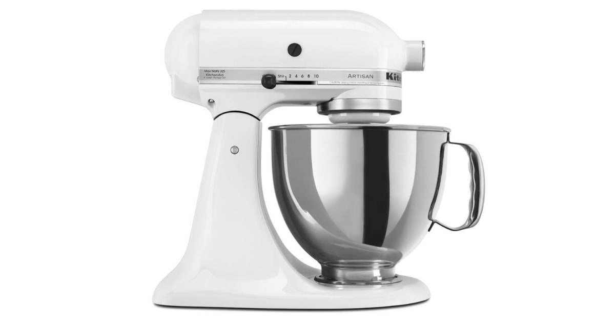 Dick Smith Kitchenaid Ksm150 Artisan Stand Mixer White