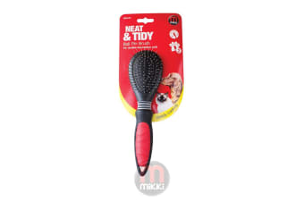 Interpet Mikki Ball Pin Brush (Black/Red)