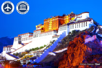 CHINA & TIBET: 16 Day Tour of China & Tibet Including Flights for Two